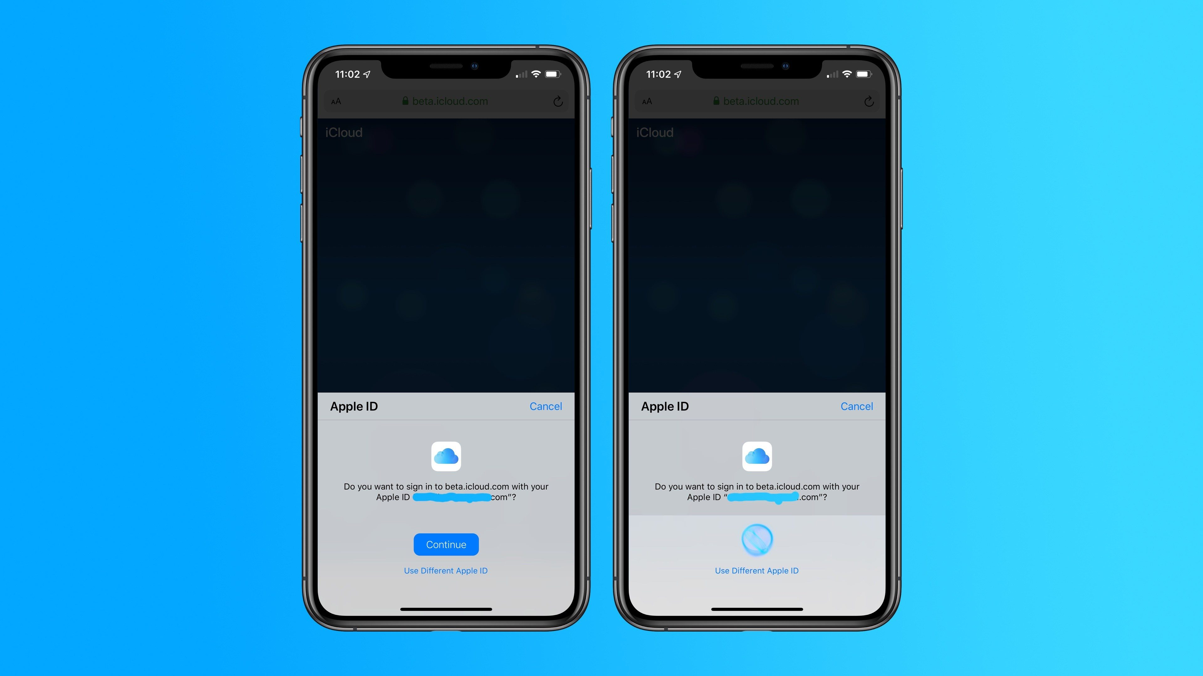 Apple Tests Face ID and Touch ID Sign-in for iCloud․com on iOS 13 and macOS Catalina Betas