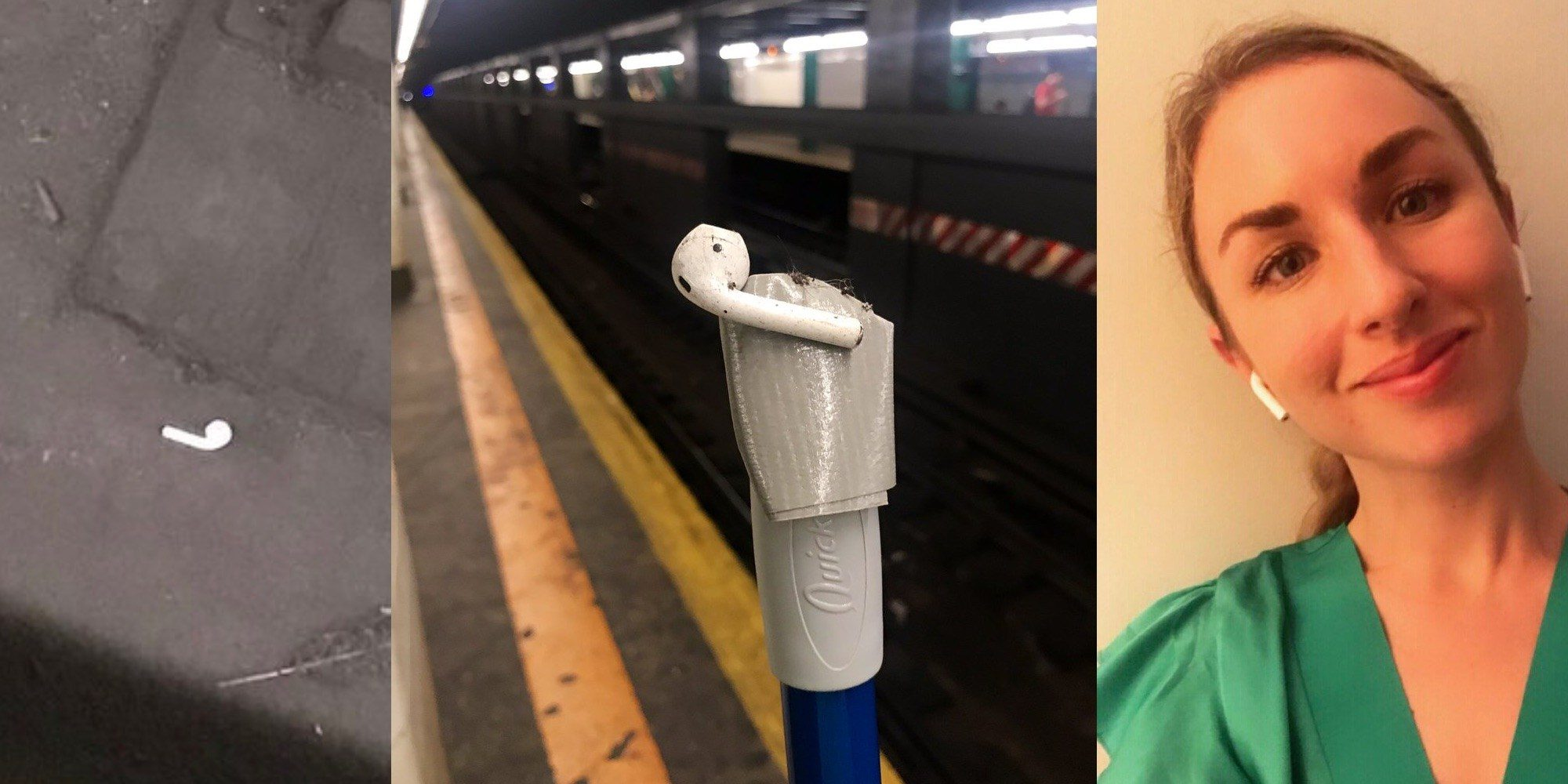 What Happens When an AirPod Gets Lost in a NYC Subway Station?