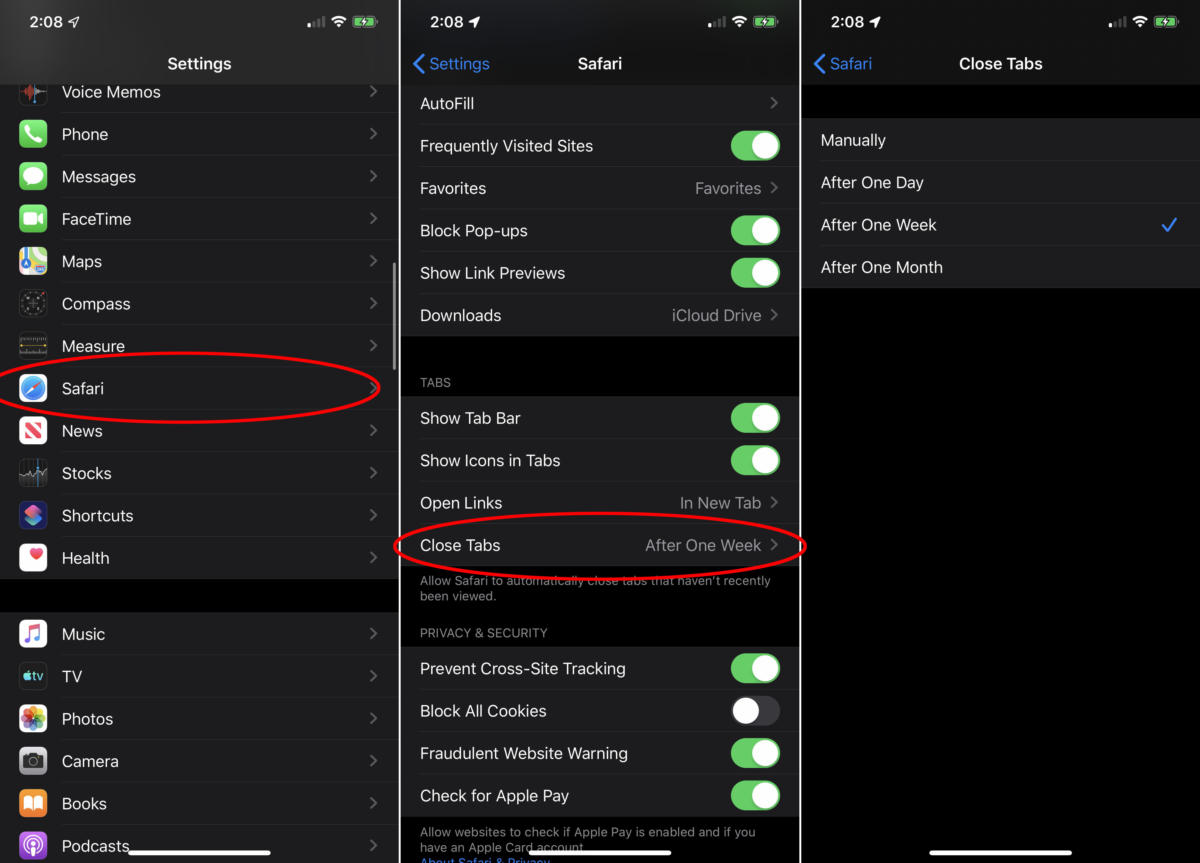 Apple iOS 13: How to Automatically Close Safari Tabs