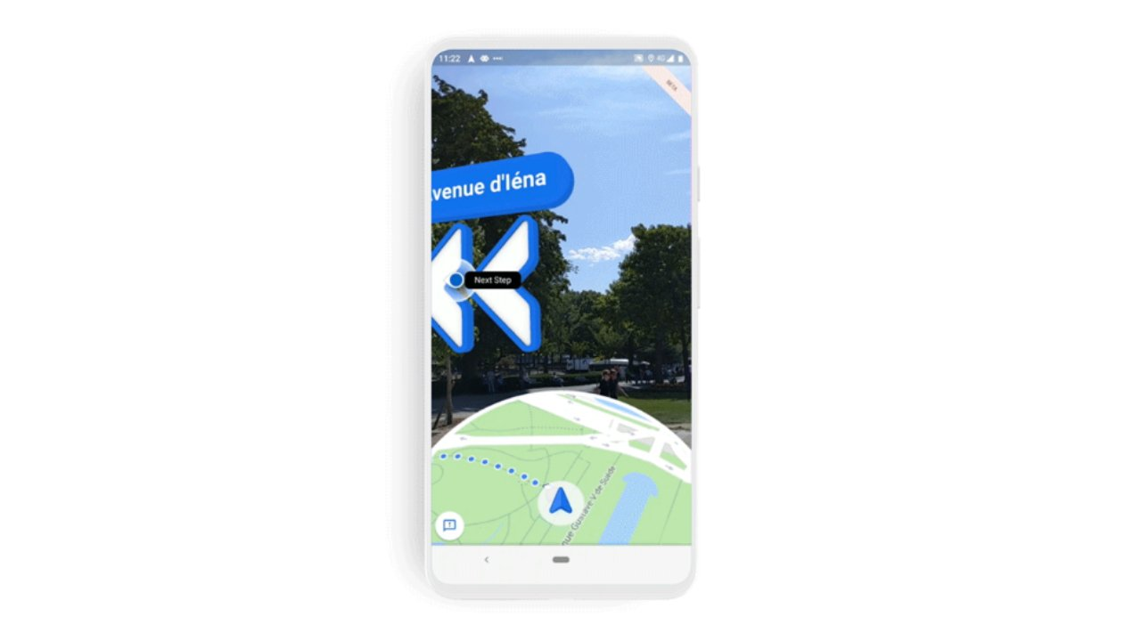 Google Launches New AR-Guided Navigation on iOS
