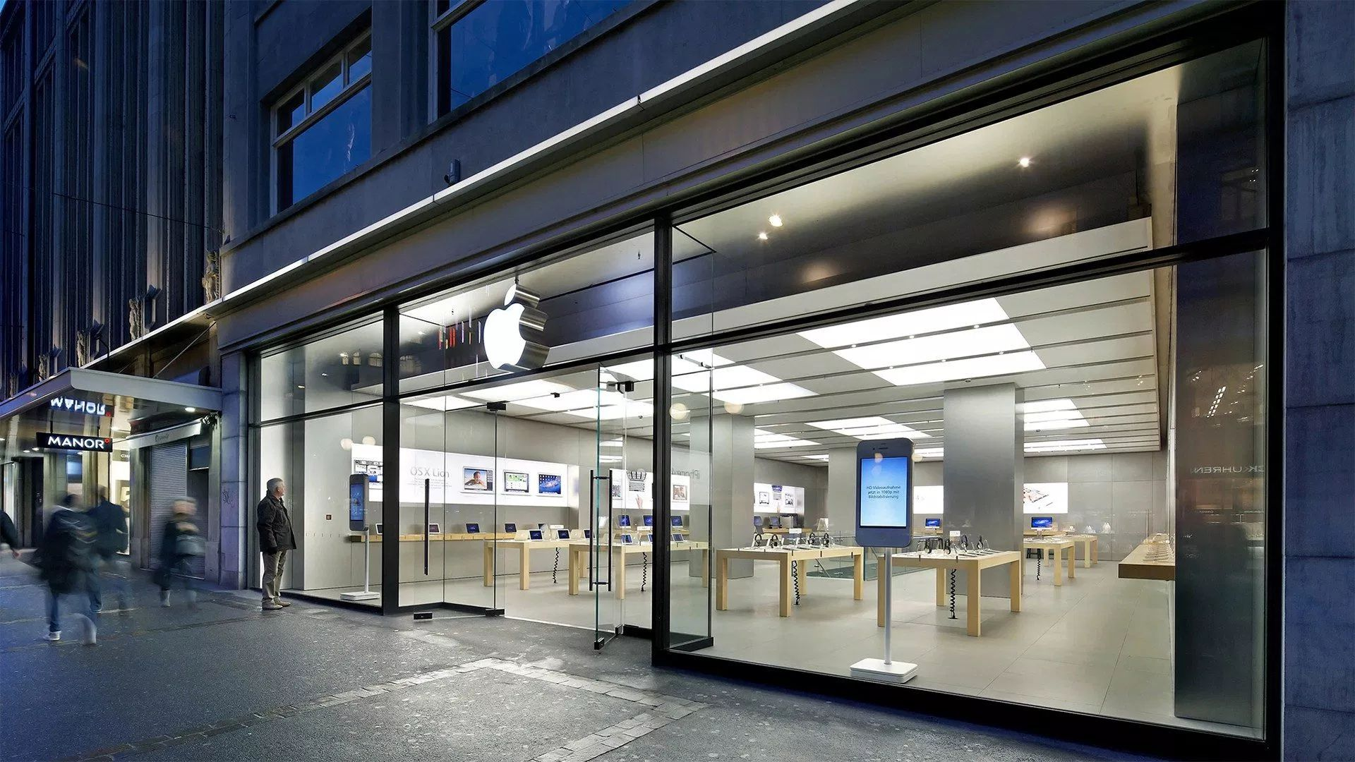 Switzerland's Bahnhofstrasse Apple Store Relocating on August 31st