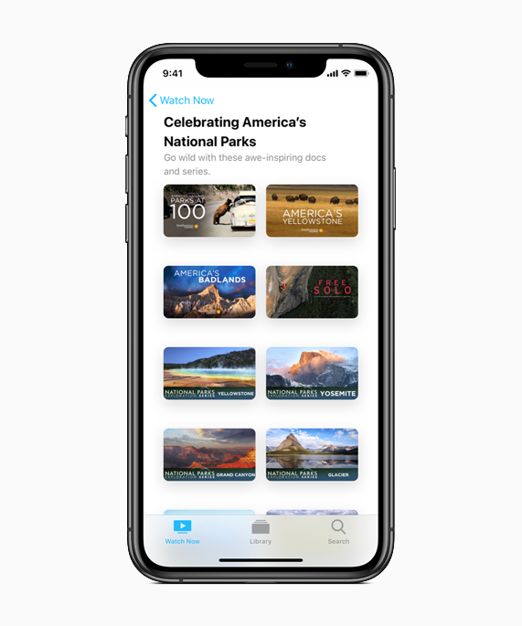 Apple Celebrates America's National Parks This August