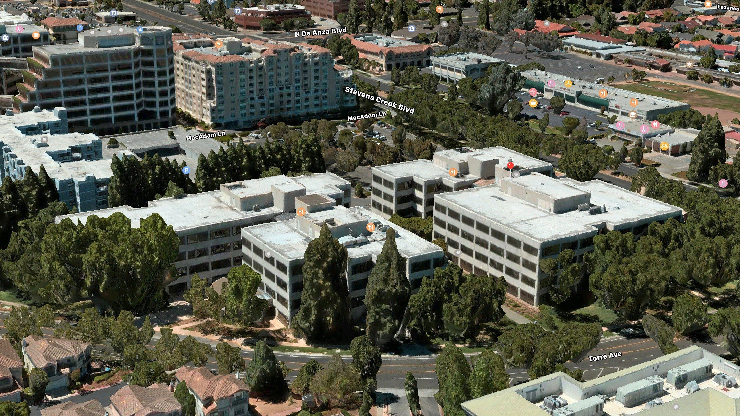 Apple Purchases Two New Office Buildings