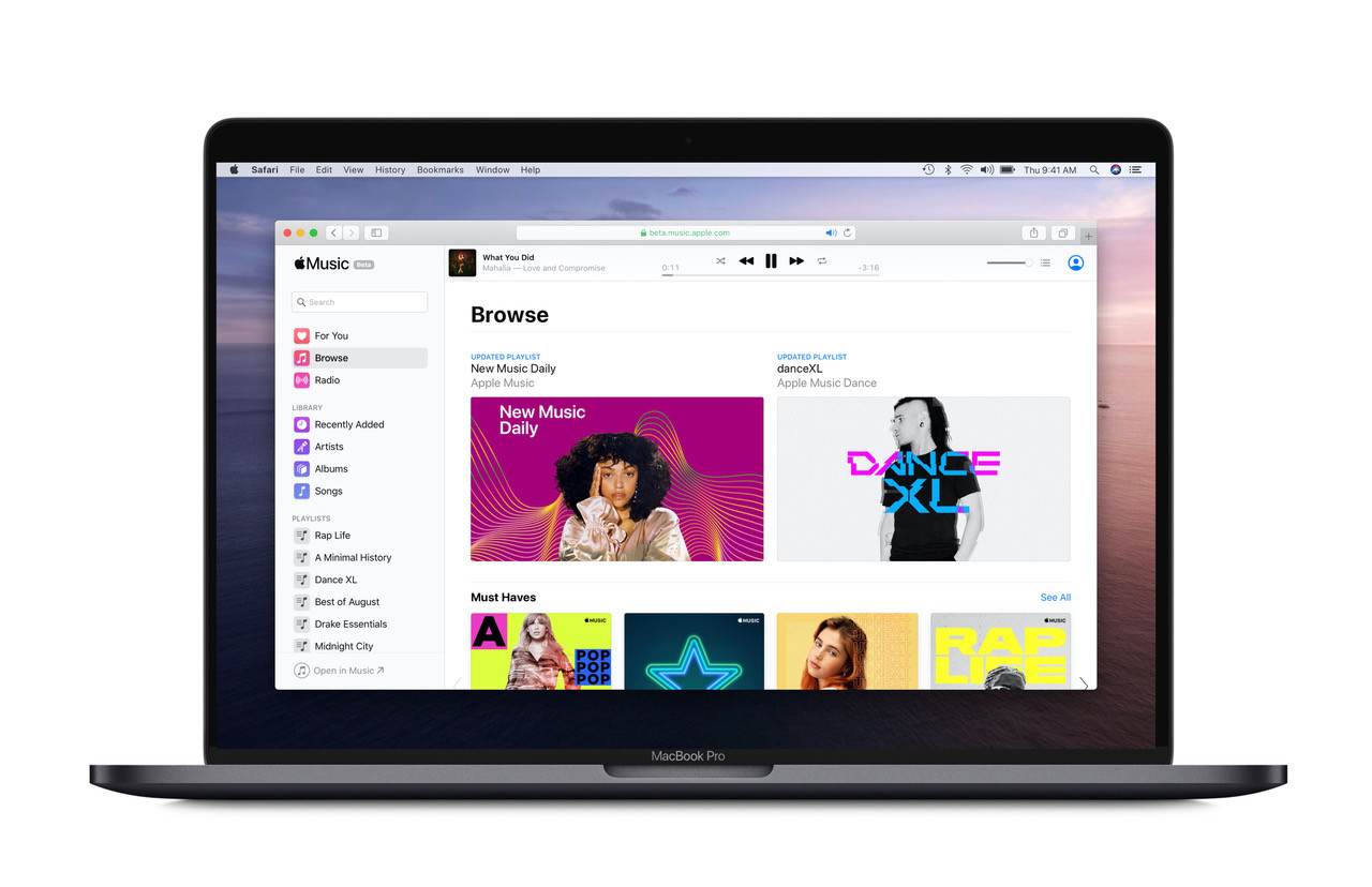 Apple Music Launches a Public Beta on the Web