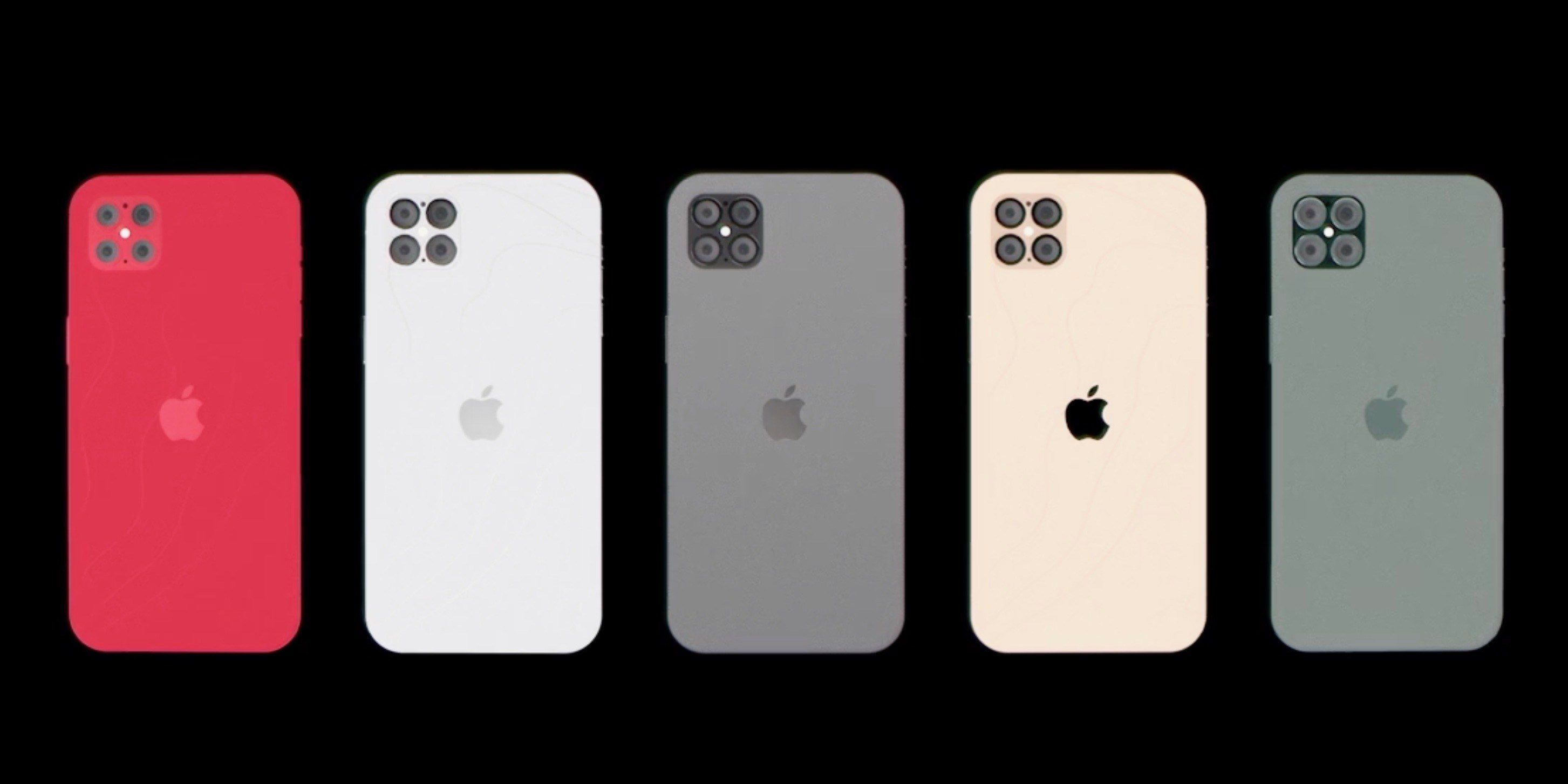 iPhone 12 Pro Concept Imagines iPhone SE Design with ProMotion Display, four Cameras, more