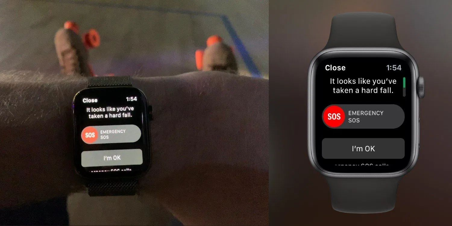 Apple Watch Fall Detection Saves New Jersey man After Tumbling off Cliff and Breaking his Back