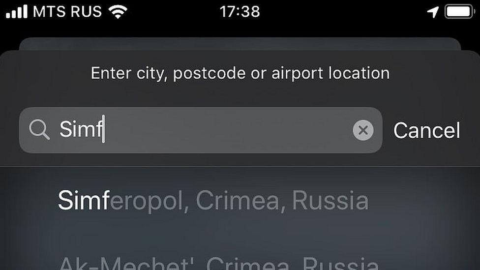 Apple Makes Change to Show Crimea Differently in its Apps to Satisfy Russian Government