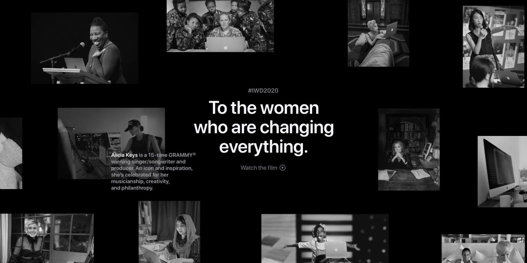 Apple Celebrates International Women's Day With Interactive Homepage Feature