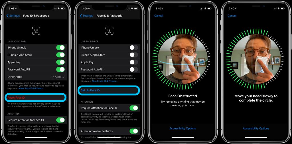 iPhone: How to Improve Face ID With a Mask