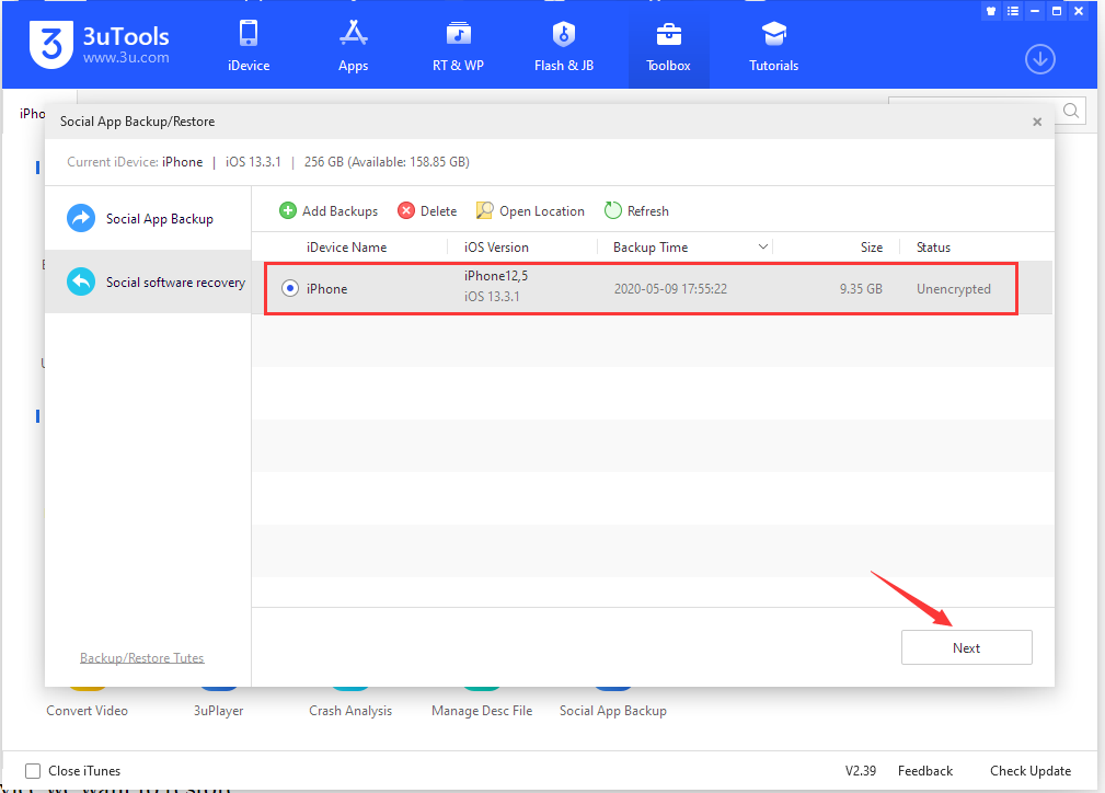 Tutorial: How to Backup Social Software Data?