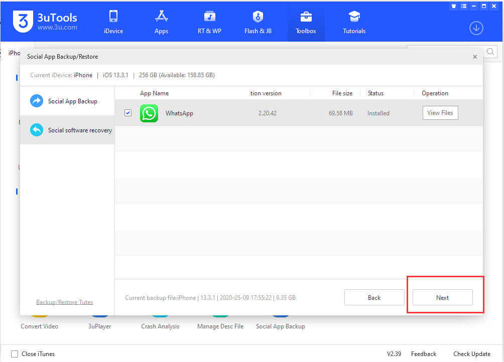 ​Tutorial: How to Backup Social Software Data?