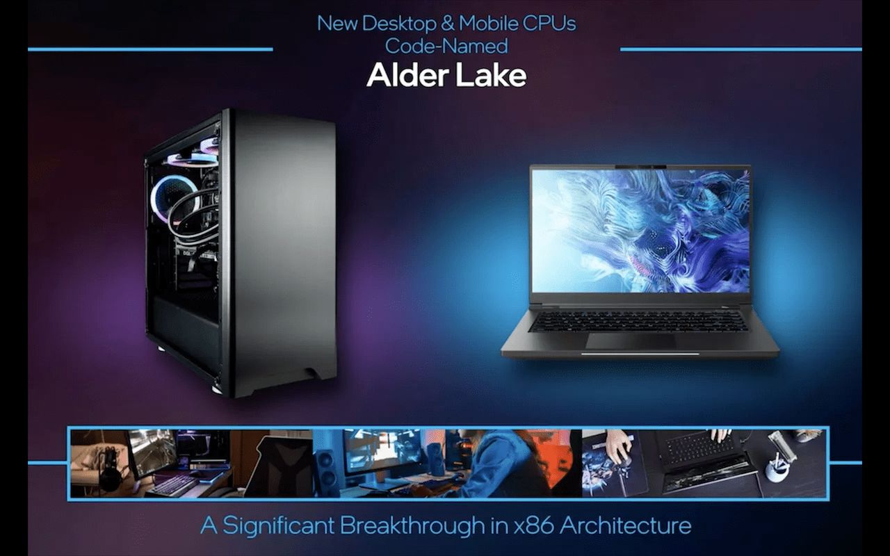 Intel Unveils new 12th-generation Alder Lake Chips as it Plays Catch up to Apple's M1