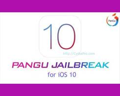 Download PanGu iOS 10.1.1, iOS 10.2 Jailbreak Update