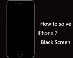 How to Fix iPhone 7 Black Screen of Death?