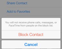 How to Block a Phone Number in iOS 10