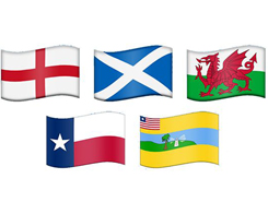 Unicode Proposes Regional Emoji Flags for Next Year