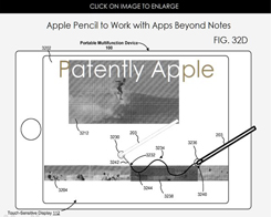 New Patents Refer to Apple Pencil Working With iPhone