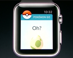 Pokémon Go Arrives on the Apple Watch