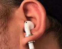 This Guy Turned Apple AirPods Into Plugs for His Gauged Ears