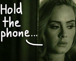 Woman's iPhone Glitch Gave Her Adele's Phone Number Along With 'Hundreds' Of Other Celeb Numbers
