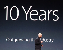 Apple Commemorates 10th iPhone Anniversary