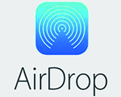 How to Turn on AirDrop on iPhone 7?