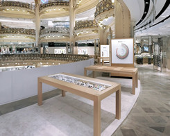Apple Watch Pop Up Shop at Galeries Lafayette in Paris Shuts Down