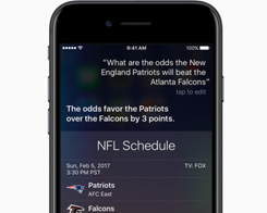 Siri Might Be The Only Friend You Need This Super Bowl Sunday