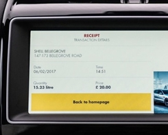 Jaguar Shell App Lets UK Drivers Refuel Using Apple Pay from Inside Their Car