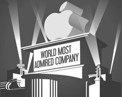 Apple Tops 'World's Most Admired Companies' List for Tenth Year in a Row