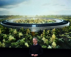 Apple 'spaceship' headquarters to open in April