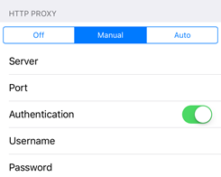 How to Configure a Proxy Server on Your iPhone/iPad