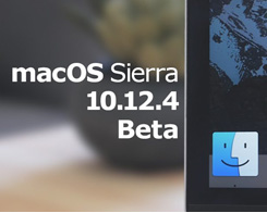 Apple Seeds Fourth macOS Sierra 10.12.4 Beta to Developers & Public Beta Testers