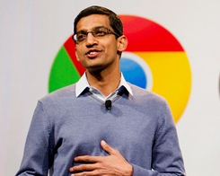 Tim Cook and Google's CEO Sundar Pichai Spotted Having Discussions Over Dinner