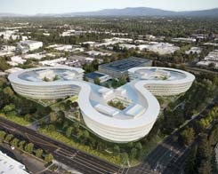 Apple Park HQ Buttressed By Central & Wolfe 'AC3' Campus In Sunnyvale, Calif.