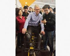 Tim Cook Visits Beijing-Based Bike Sharing Startup, Ofo