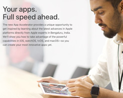 Apple Opens Its App Accelerator In India