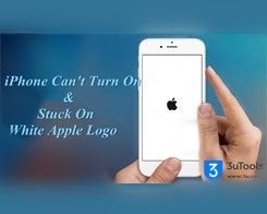 How to Fix iPhone Can't Turn On & Stuck On White Apple Logo When Rebooting?