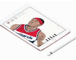 Watch iPad Pro Artist Bring NBA stars to Life Using Apple Pencil