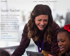 Apple Launches Apple Teacher Learning Program In Canada