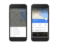 Google Maps Now Remembers Where You Parked Your Car