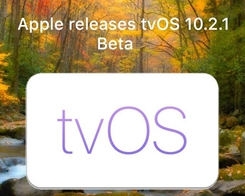 Apple Seeds Fifth Beta of tvOS 10.2.1 to Developers