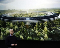Apple's Futuristic New Campus Part of A Silicon Valley Trend