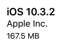 Apple Releases Updates For iOS 10.3.2, WatchOS 3.2.2, tvOS 10.2.1