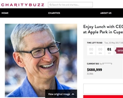 Tim Cook Charity Lunch Auction Earns Over $680,000 for RFK Center