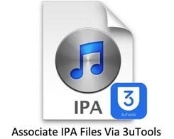 How to Associate IPA Files on iPhone Using 3uTools?