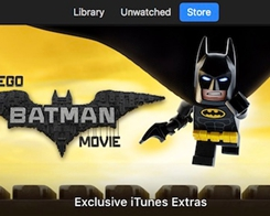 iTunes Launches Sale and LEGO-Themed Makeover for Digital Release of 'The LEGO Batman Movie'