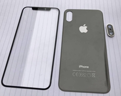 Leak Purports to Show Front and Back Panels of Apple's 'iPhone 8'