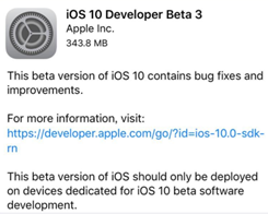 Users Could Flash iOS10.3.3 Beta3 in 3uTools V2.12