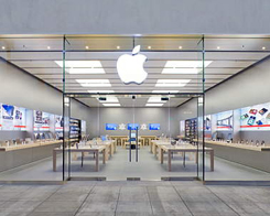The Apple Store in Valencia Town Center was Robbed Yesterday